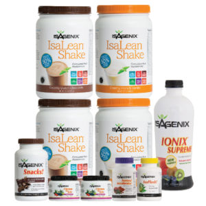 how much weight can you lose on Isagenix